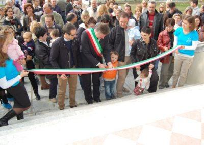 L'inaugurazione: 18 ottobre 2008
