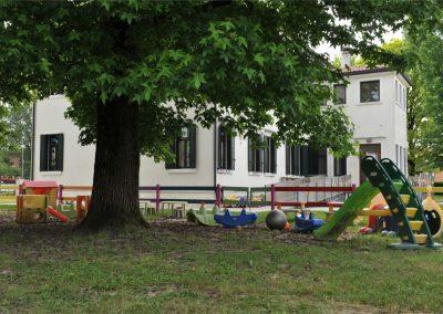 Area giochi nel parco